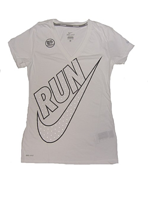 CRUISER V-NK SS RUN SWOOSH Dámské tričko