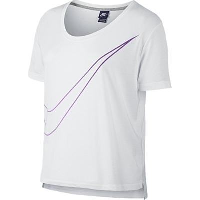 PREP TEE-LRG SWOOSH Dámské tričko