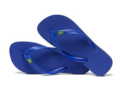 BRASIL MARINE BLUE Pánské žabky