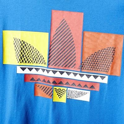MIX TREFOIL TEE Pánské tričko