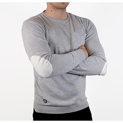 Grey Melange Pánský svetr