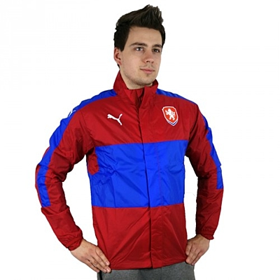 Czech Republic Stadium Jacket chili pepp Pánská bunda