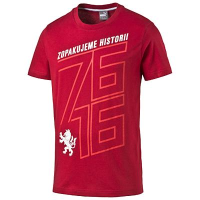 Czech Republic 76 Fan Shirt chili peppe Pánské tričko