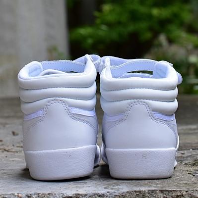 FREESTYLE HI WHT/LT BLUE Dětské boty