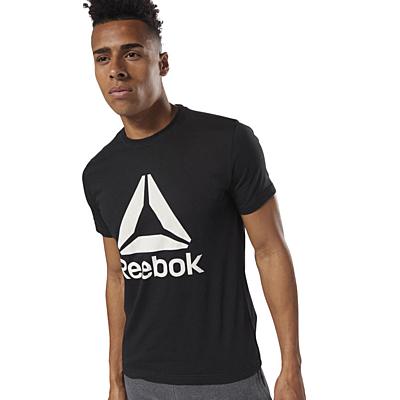QQR- Reebok Stacked Pánské tričko